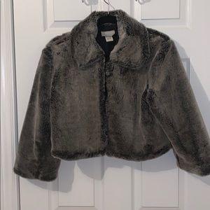 fur (faux) coat